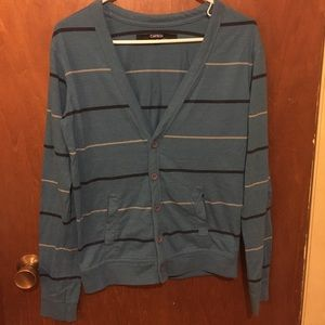 Blue cardigan from Rue21, Men's Small